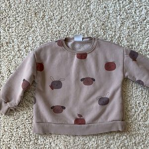 Baby girls Zara sweatshirt